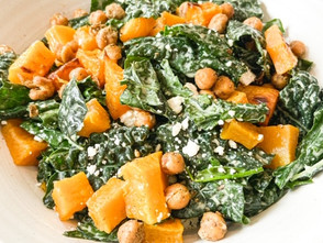 Kale and Squash