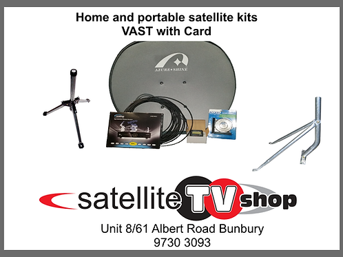 Deluxe Portable Satellite Kit