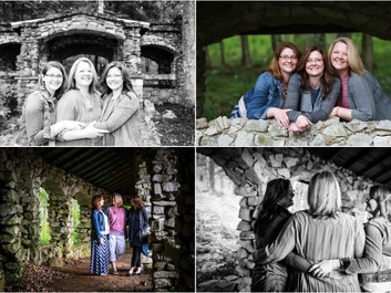 Sister Session at Endless Caverns in New Market, Virginia