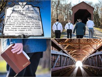 Sally + Chris - Intimate Meems Bottom Covered Bridge Wedding, Mt. Jackson, VA