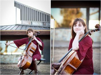 Oh, Cello! Musician Portraits at Astronomy Hill, EMU, Harrisonburg