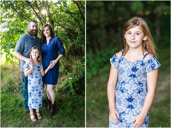 Isenhart Family Maternity Session in Elkton, VA