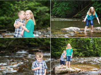 Kendall & Parker at Riven Rock Park