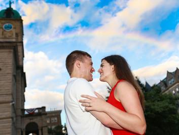 Catie & Daniel's Engagement Session in Harrisonburg, VA