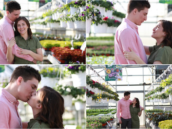 Roiya + Marcus - Engagement Session at Showalter's Orchard and Greenhouse, Timberville, Virginia