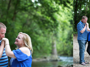 Brandi & Lucas Engagement Session at Meem's Bottom Covered Bridge in Mt. Jackson, Virginia