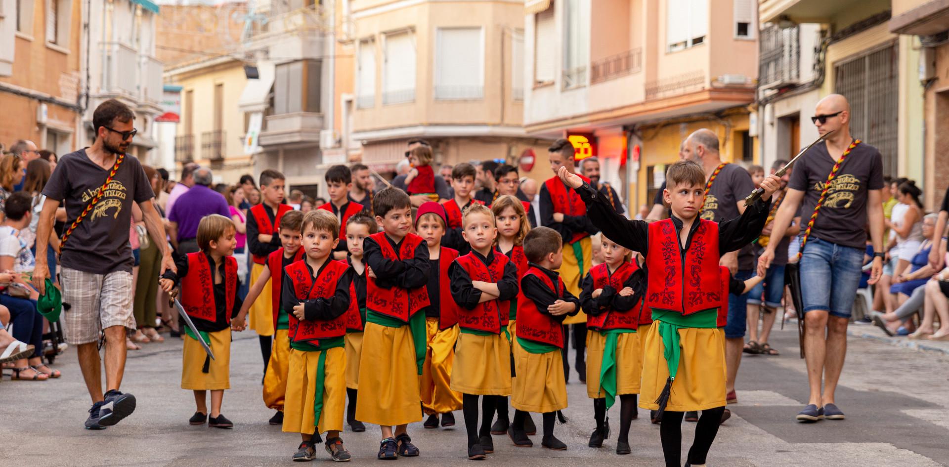 Desfilada infantil. Al-hagamba-Muza 2019