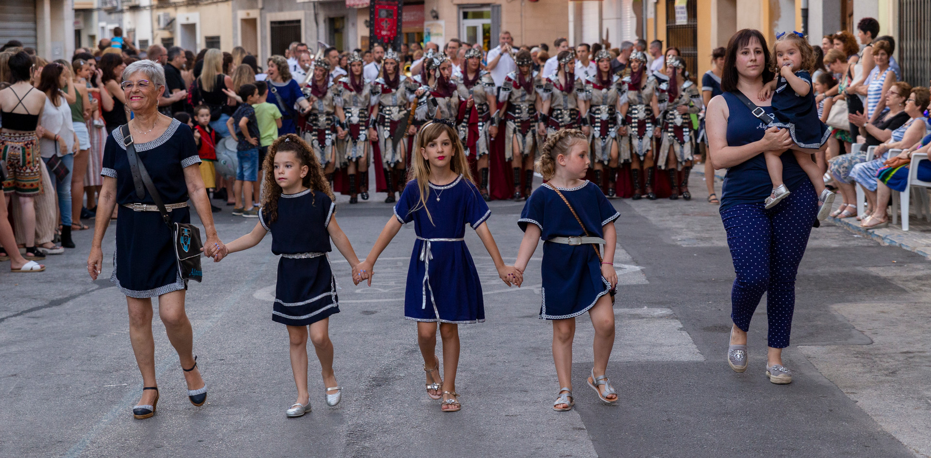 Desfilada infantil. Algarades 2019