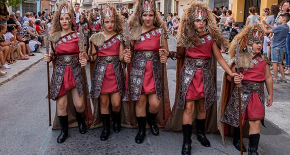 Desfilada infantil. Templàries 2019