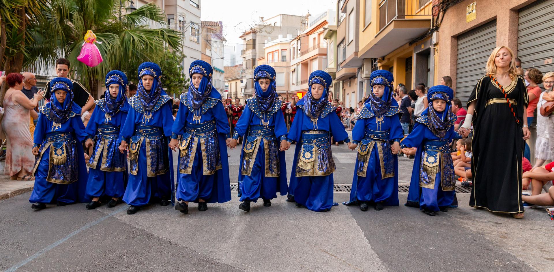 Desfilada infantil. Beduines 2019