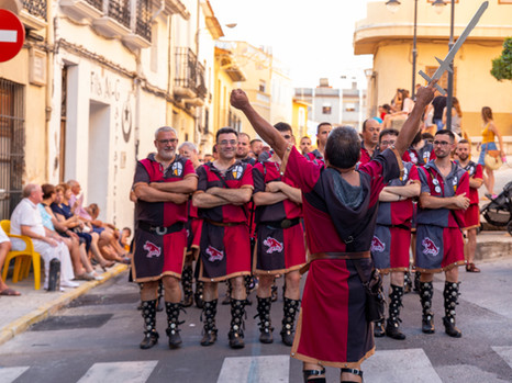 Filà Albardins - Entradeta i Ambaixada 2019