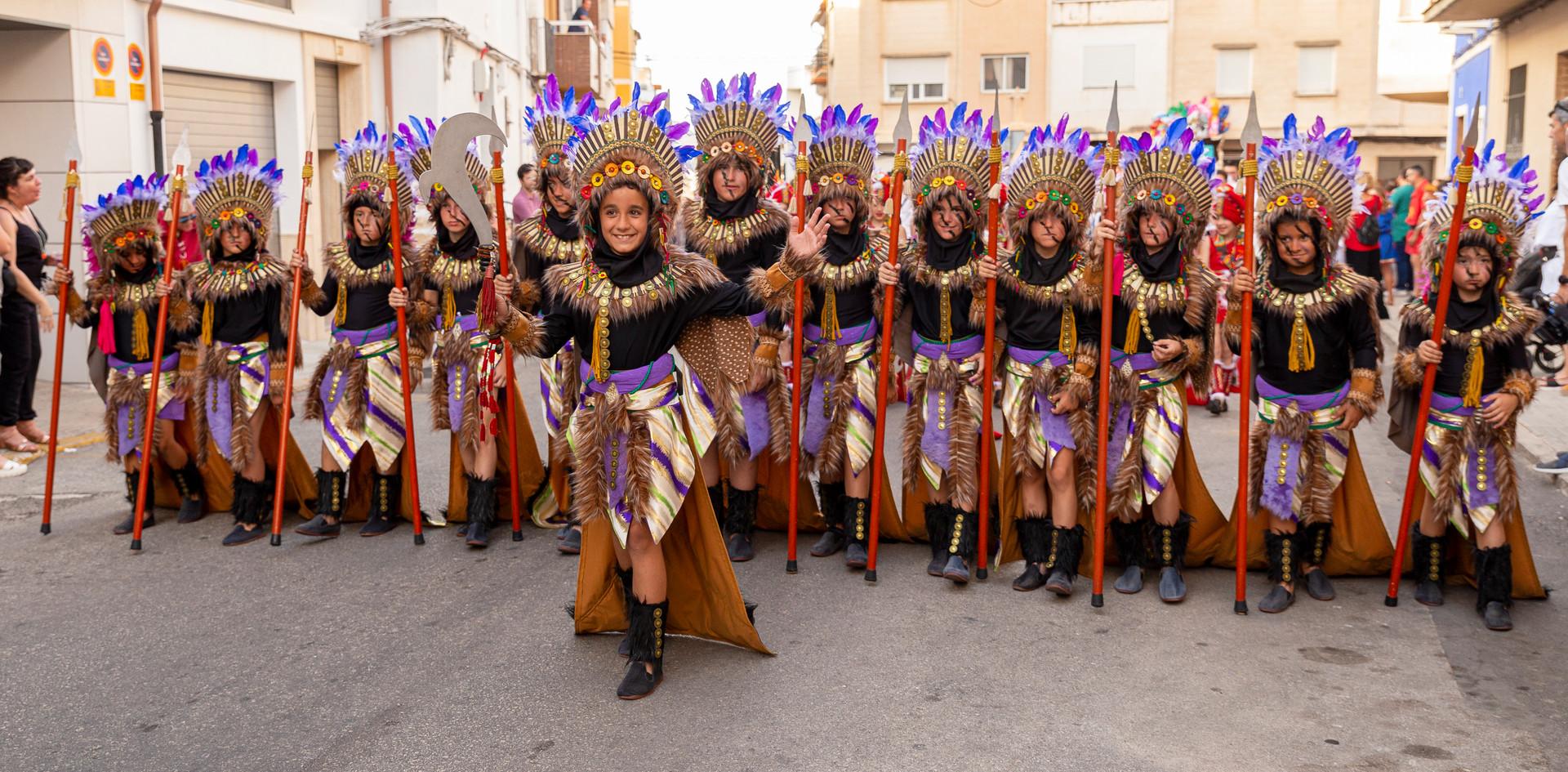 Desfilada infantil. Alaçdrach 2019