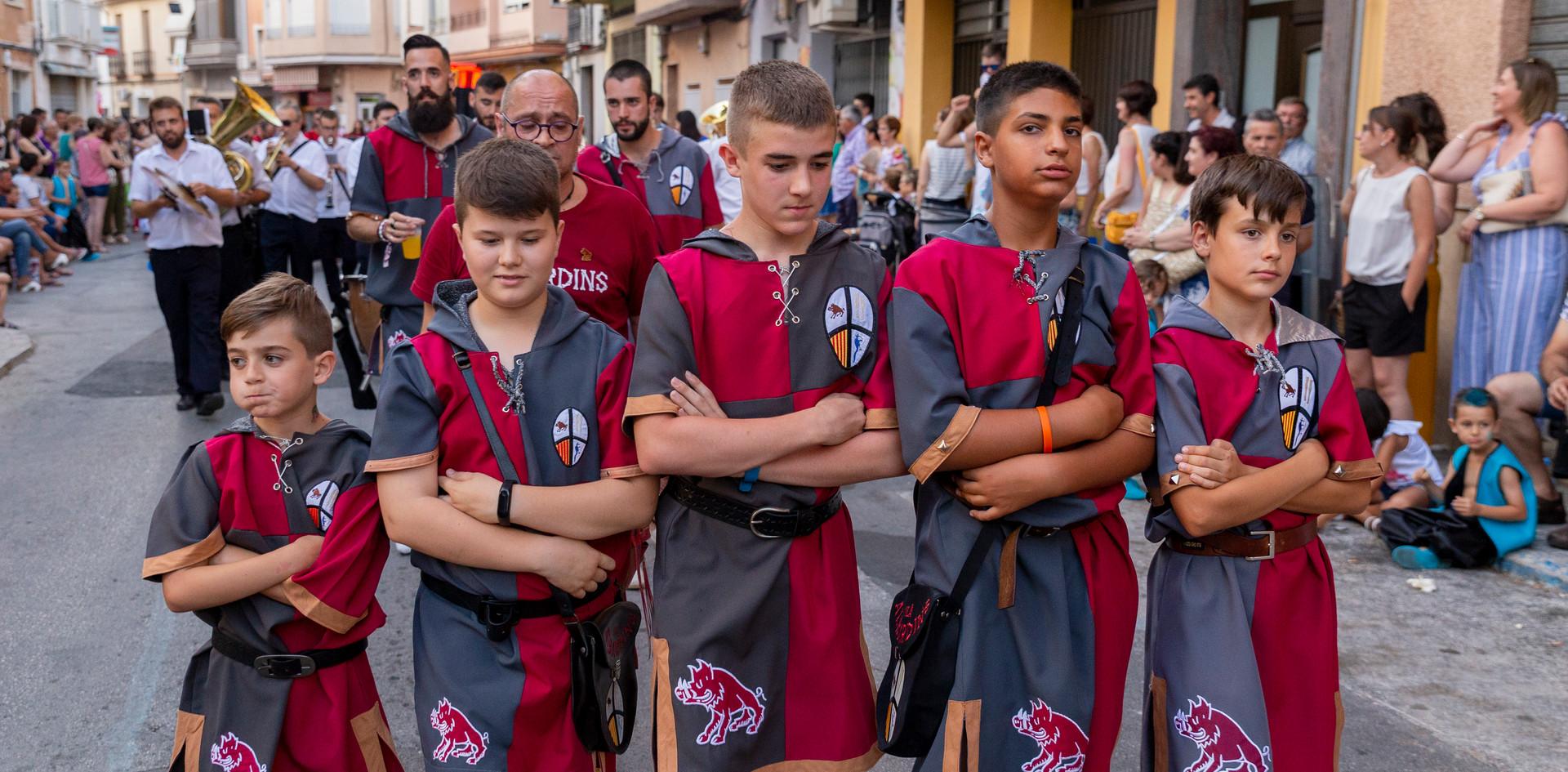 Desfilada infantil. Albardins 201