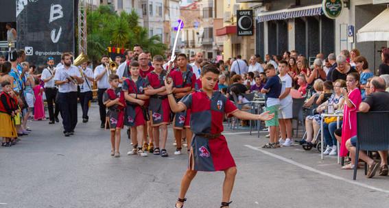Desfilada infantil. Albardins 2019