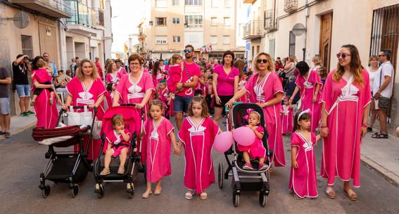 Desfilada infantil. Ha-Ben-Sahines  2019
