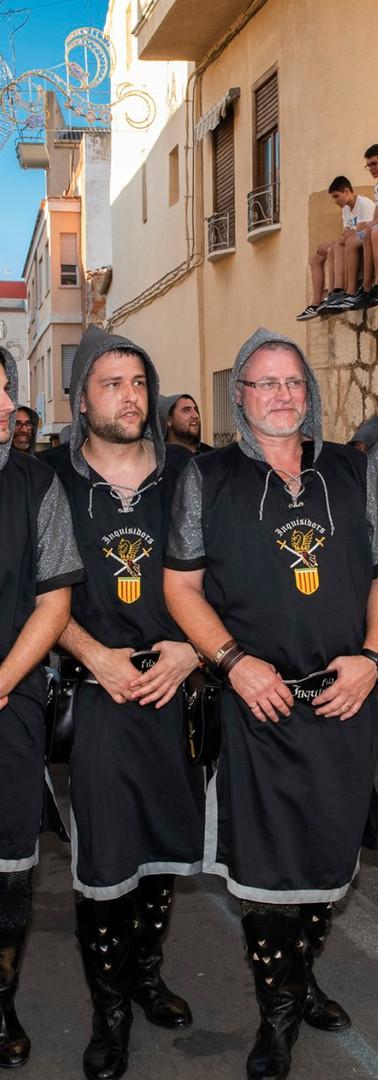 'FILÀ' INQUISIDORS. Entrada Ambaixada 2019.