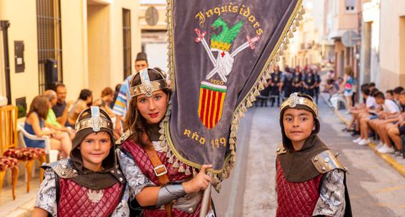 Desfilada infantil. Inquisidors 2019