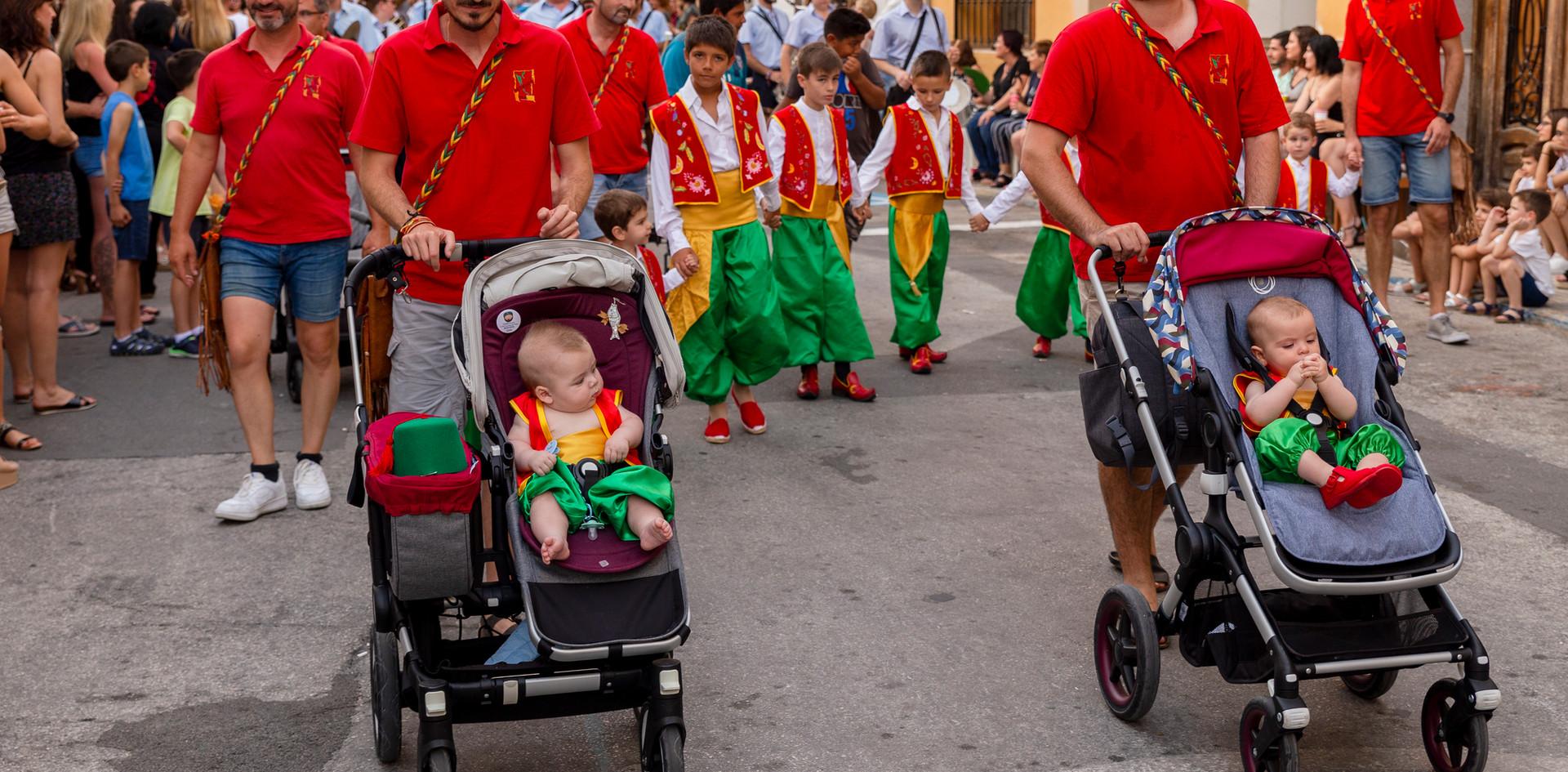 Desfilada infantil. Feixucs 2019