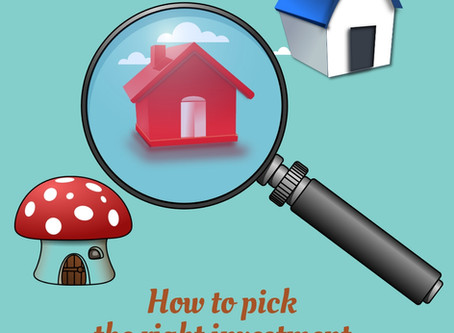 How to pick the right investment property?