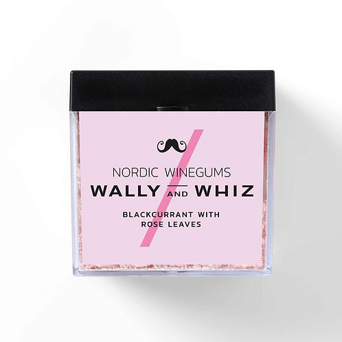 Blackcurrant with rose leaves | Wally and Whiz