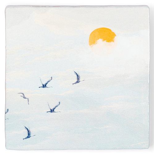 Achter de wolken schijnt de zon | Tiles S | Storytiles