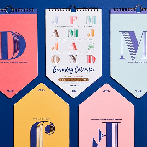 Verjaardagskalender | Uitgeverij Stratier