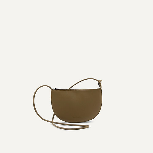 Farou half moon bag | Olive | Monk & Anna