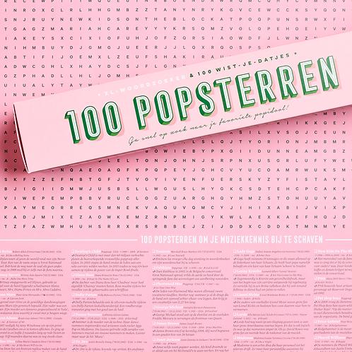 Spelposter | 100 popsterren | Stratier