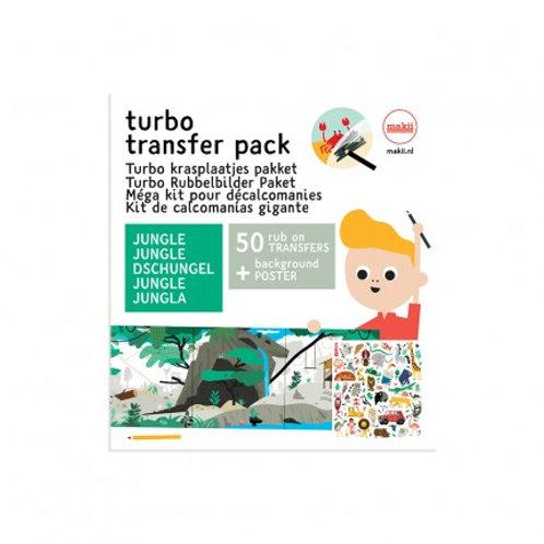 Turbo Krasplaatjes | Jungle | Makii