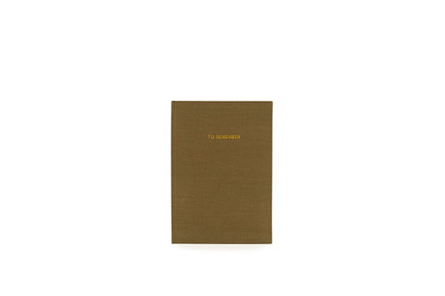 Notebook L | Washed Linen | Monk & Anna