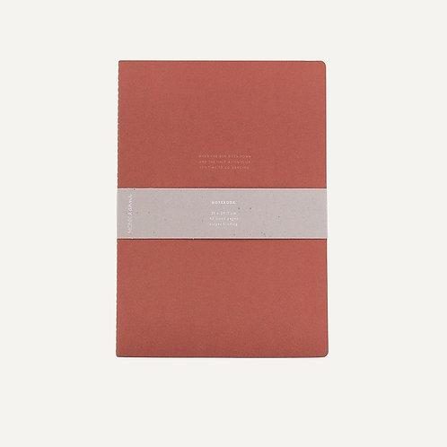 Notebook XL | Brick Red | Monk & Anna