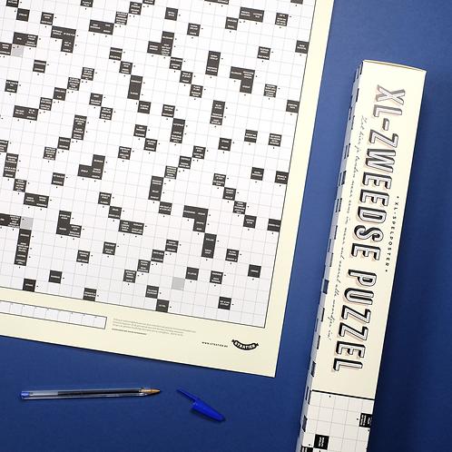 Spelposter | XL-Zweedse puzzel | Stratier