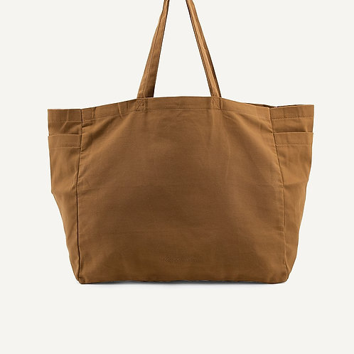 Kyodaina big shopper | khaki | Monk & Anna
