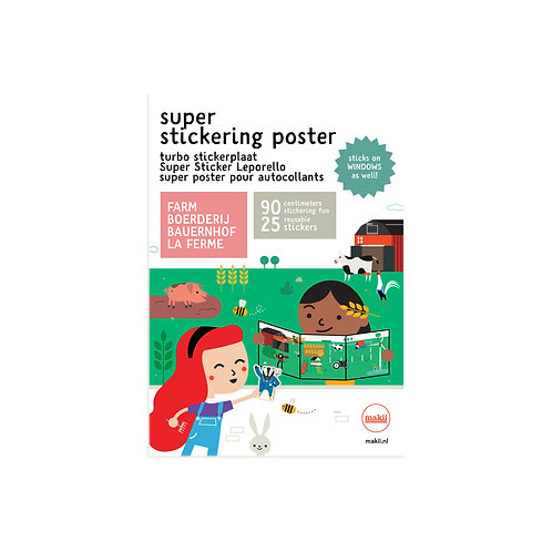 Super stickerposter | Makii