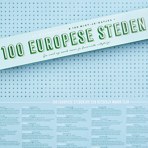 Spelposter | 100 steden | Startier