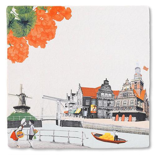 Kus uit Alkmaar | Tiles S | Storytiles