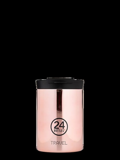 Rose gold | Travel tumbler | 24 Bottles