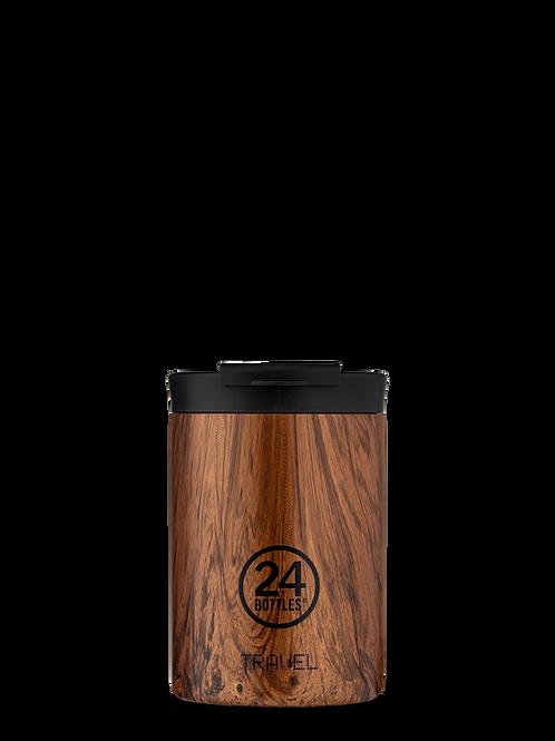 Sequoia Wood | Travel tumbler | 24 Bottles