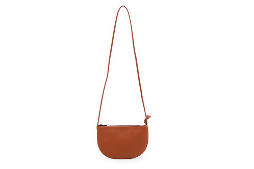 Farou half moon bag | burnt orange | Monk & Anna