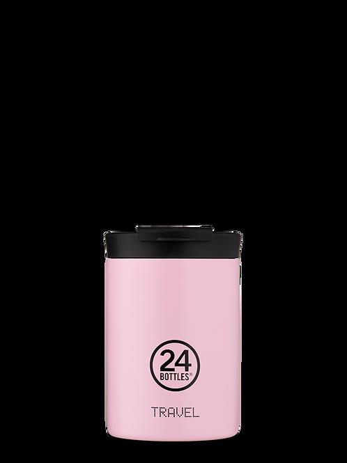 Candy Pink | Travel tumbler | 24 bottles