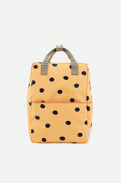 Retro Yellow | Large Backpack | Sticky Lemon