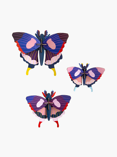 Swallowtail Butterflies | set of 3 | Studio ROOF