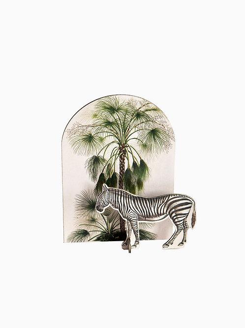 Zebra | Pop-up card | Studio ROOF