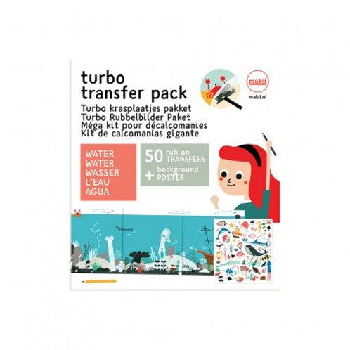 Turbo Krasplaatjes | Water | Makii