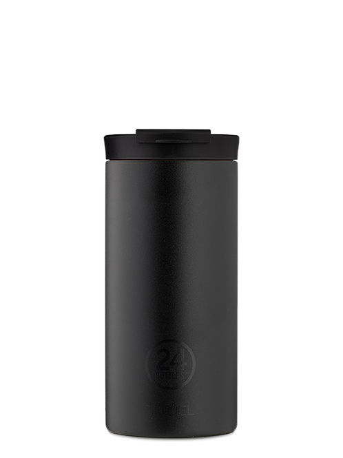 Tuxedo Black | Travel tumbler | 24Bottles