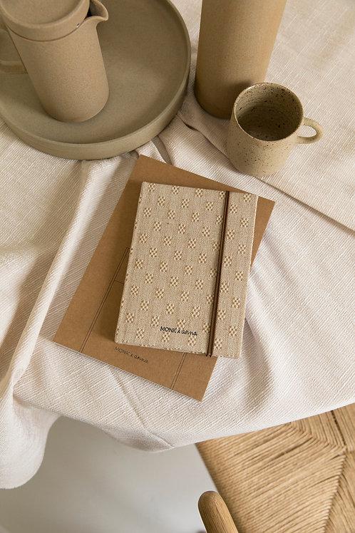 Notebook S   linen   Monk & Anna