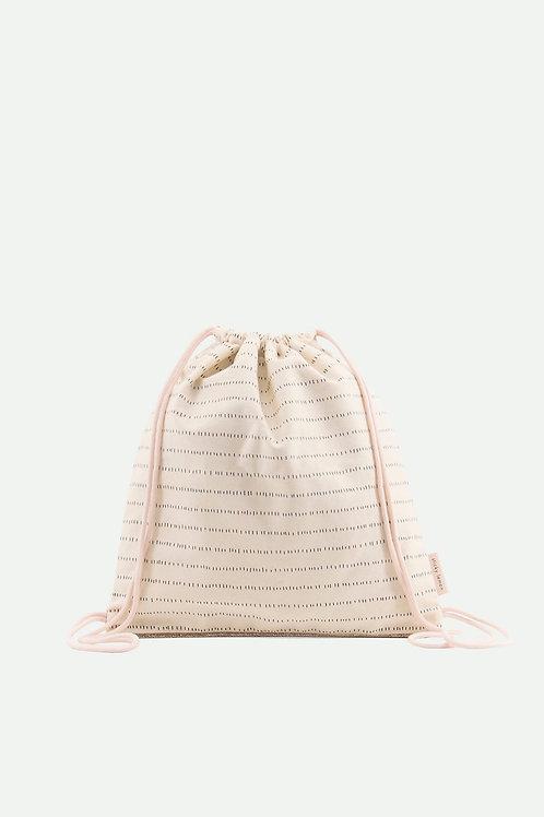 Drawstring bag | Nude Pink | Sticky Lemon