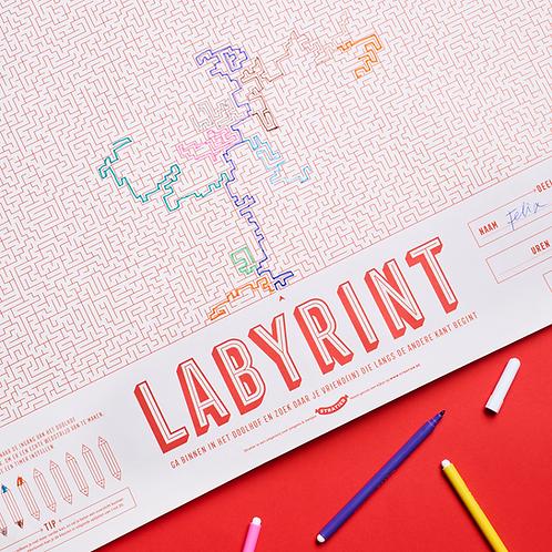 Spelposter | Labyrint | Startier