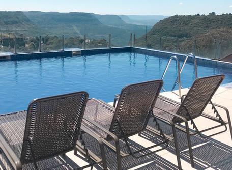Hotel em Gramado com vista para o Vale Do Quilombo