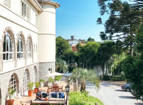O charmoso Hotel Casacurta em Garibaldi-Serra Gaúcha
